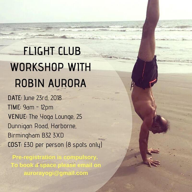 Fight Club Workshop With Robin Aurora
