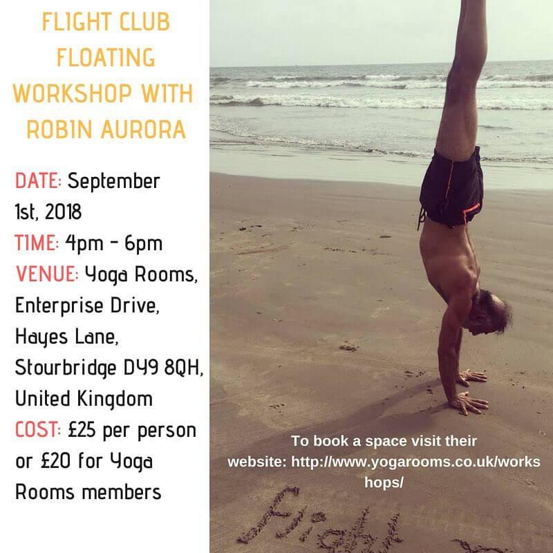 Fight Club Floating Workshop With Robin Aurora