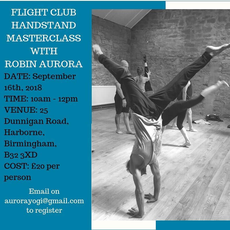Fight Club Handstand Masterclass With Robin Aurora